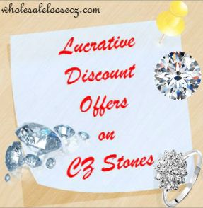 Lucrative Discount Offers on CZ Stones Attracting Shoppers in Hordes